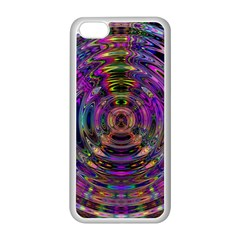 Color In The Round Apple Iphone 5c Seamless Case (white) by BangZart