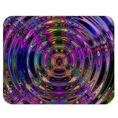 Color In The Round Double Sided Flano Blanket (medium)  by BangZart