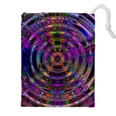 Color In The Round Drawstring Pouches (xxl) by BangZart