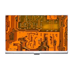 Circuit Board Pattern Business Card Holders by BangZart