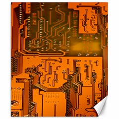 Circuit Board Pattern Canvas 20  X 24   by BangZart