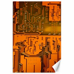 Circuit Board Pattern Canvas 20  X 30