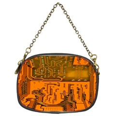 Circuit Board Pattern Chain Purses (two Sides)  by BangZart