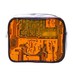 Circuit Board Pattern Mini Toiletries Bags by BangZart
