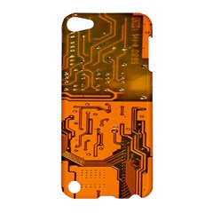 Circuit Board Pattern Apple Ipod Touch 5 Hardshell Case