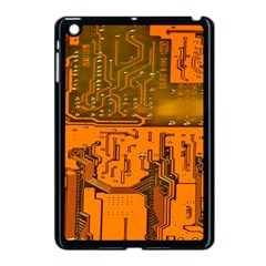 Circuit Board Pattern Apple Ipad Mini Case (black)
