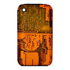 Circuit Board Pattern Iphone 3s/3gs