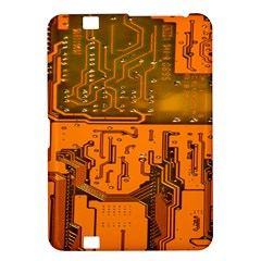 Circuit Board Pattern Kindle Fire Hd 8 9  by BangZart
