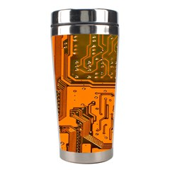 Circuit Board Pattern Stainless Steel Travel Tumblers by BangZart