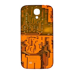 Circuit Board Pattern Samsung Galaxy S4 I9500/i9505  Hardshell Back Case