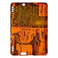 Circuit Board Pattern Kindle Fire Hdx Hardshell Case by BangZart