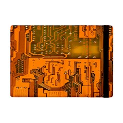 Circuit Board Pattern Ipad Mini 2 Flip Cases by BangZart