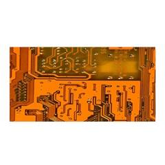 Circuit Board Pattern Satin Wrap