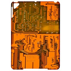 Circuit Board Pattern Apple Ipad Pro 9 7   Hardshell Case by BangZart