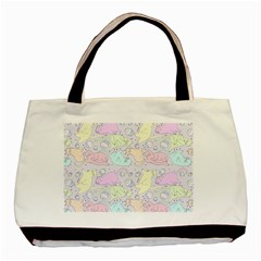 Cat Animal Pet Pattern Basic Tote Bag by BangZart