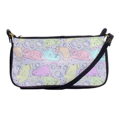 Cat Animal Pet Pattern Shoulder Clutch Bags by BangZart
