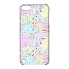 Cat Animal Pet Pattern Apple Ipod Touch 5 Hardshell Case With Stand