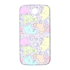 Cat Animal Pet Pattern Samsung Galaxy S4 I9500/i9505  Hardshell Back Case