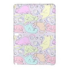 Cat Animal Pet Pattern Samsung Galaxy Tab Pro 10 1 Hardshell Case by BangZart