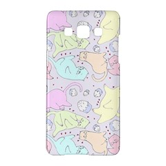 Cat Animal Pet Pattern Samsung Galaxy A5 Hardshell Case  by BangZart