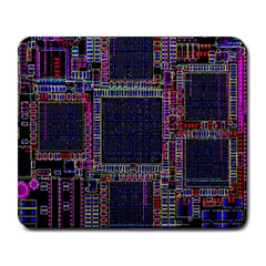 Cad Technology Circuit Board Layout Pattern Large Mousepads by BangZart