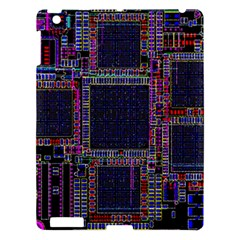 Cad Technology Circuit Board Layout Pattern Apple Ipad 3/4 Hardshell Case by BangZart