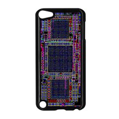 Cad Technology Circuit Board Layout Pattern Apple Ipod Touch 5 Case (black)