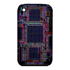 Cad Technology Circuit Board Layout Pattern Iphone 3s/3gs by BangZart