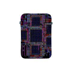 Cad Technology Circuit Board Layout Pattern Apple Ipad Mini Protective Soft Cases by BangZart