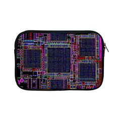 Cad Technology Circuit Board Layout Pattern Apple Ipad Mini Zipper Cases by BangZart