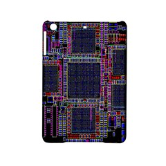 Cad Technology Circuit Board Layout Pattern Ipad Mini 2 Hardshell Cases by BangZart