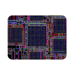 Cad Technology Circuit Board Layout Pattern Double Sided Flano Blanket (mini)  by BangZart