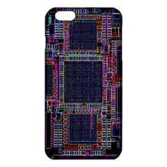 Cad Technology Circuit Board Layout Pattern Iphone 6 Plus/6s Plus Tpu Case by BangZart