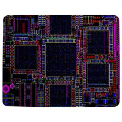 Cad Technology Circuit Board Layout Pattern Jigsaw Puzzle Photo Stand (rectangular) by BangZart