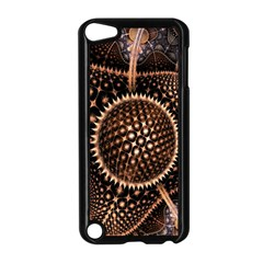 Brown Fractal Balls And Circles Apple Ipod Touch 5 Case (black)