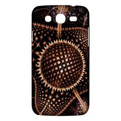 Brown Fractal Balls And Circles Samsung Galaxy Mega 5 8 I9152 Hardshell Case  by BangZart