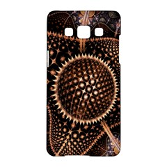 Brown Fractal Balls And Circles Samsung Galaxy A5 Hardshell Case  by BangZart