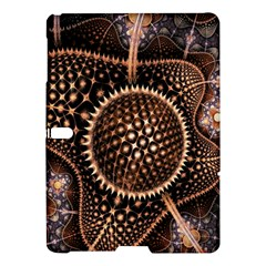 Brown Fractal Balls And Circles Samsung Galaxy Tab S (10 5 ) Hardshell Case  by BangZart