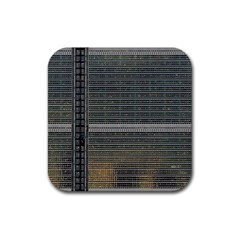Building Pattern Rubber Square Coaster (4 Pack)  by BangZart