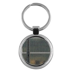 Building Pattern Key Chains (round)