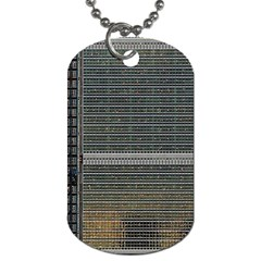 Building Pattern Dog Tag (two Sides)