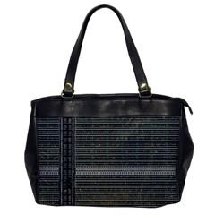 Building Pattern Office Handbags