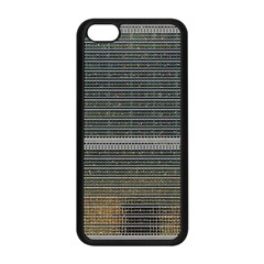 Building Pattern Apple Iphone 5c Seamless Case (black) by BangZart