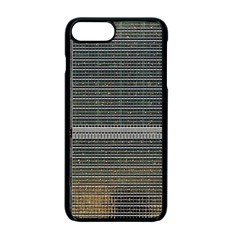 Building Pattern Apple Iphone 7 Plus Seamless Case (black)