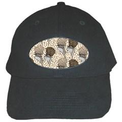 Bouffant Birds Black Cap