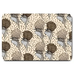 Bouffant Birds Large Doormat