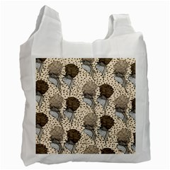 Bouffant Birds Recycle Bag (two Side)