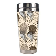 Bouffant Birds Stainless Steel Travel Tumblers by BangZart