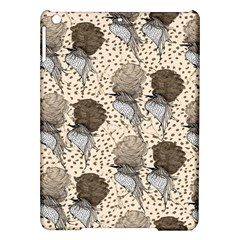 Bouffant Birds Ipad Air Hardshell Cases