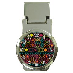 Bohemian Patterns Tribal Money Clip Watches